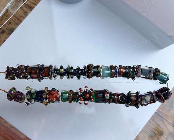 Magic Art Glass - reserved for 5nonno5 -  Glass Beads by Kathrin Kneidl - SRA -