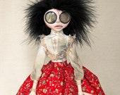 Emily - Victorian Gothic Asylum Art Doll