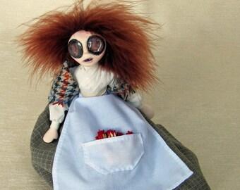 The Little Matchgirl - Gothic Fantasy Art Doll