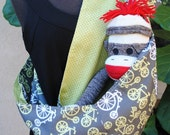 Fun Bicycle Pattern Baby Sling Pouch