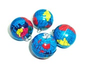 Globe Charms 12pcs ..... shop closing - flash SALE