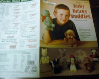 Animal Crocheting Patterns Baby Beany Buddies Needlecraft Shop 981019 Crochet Pattern