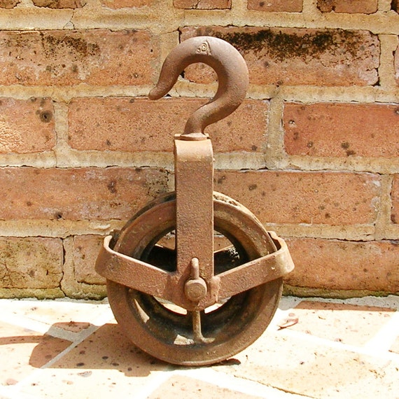 Huge Vintage Antique Iron Pulley Wheel Barn Pulley Farm Pulley Nautical Pulley Industrial Pulley Wheel Reserved For Geri Please Do Not Buy