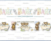 PDF Printable Personalized OH Baby Wrappers Set