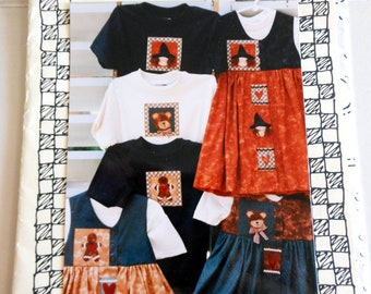 Pattern - A fun Children's Jumper Pattern Sizes 2 - 10 with Applique for T-shirt
