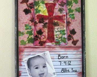 Dry-Erase Magnet Board (Cross)