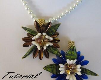 Tutorial - Island Flower Pendant