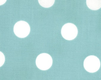 Dottie Polka Dots Teal fabric | Cotton Quilt fabric | Moda 45008 26