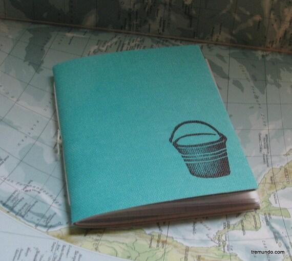 bucket list pamphlet journal