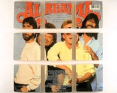ALABAMA recycled Touch album cover coasters
