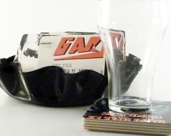 Gary U.S. Bonds handmade wood coasters & record bowl from recycled Standing in the Line of Fire music album