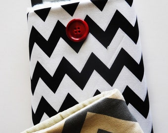 SALE, Kindle2 or Nook or others, custom made, Chevron in several colors.