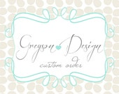 Custom order for Meghan Shabby and Vintage Banner - Greyson Design