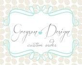 Custom order for Meghan Shabby and Vintage Banner