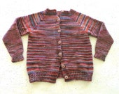 Colorful Wool Sweater // Size XS