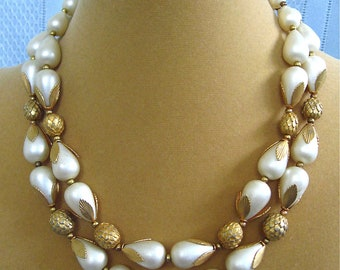 ON SALE was 36.99 Creamy White Deauville Necklace