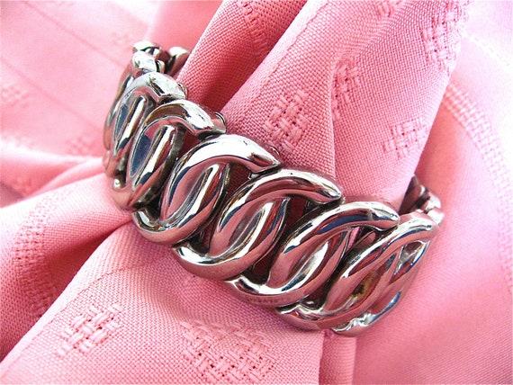 Silver Monet Stretch Bracelet