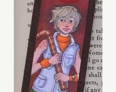 CLEARANCE SALE Original Art - Silent Hill Bookmark, Heather Mason, Halo of the Sun