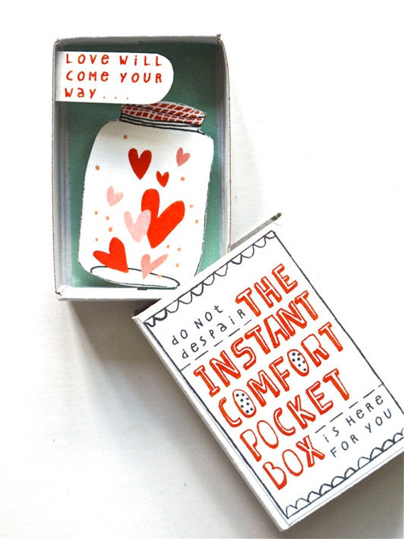 The Instant Comfort Pocket Box - Love in a jar