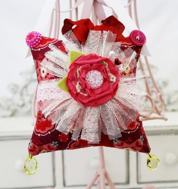 Jemma Hanging Handmade Pincushion