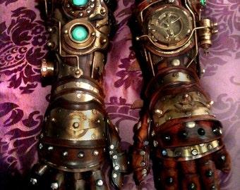 Steampunk Gauntlet Custom