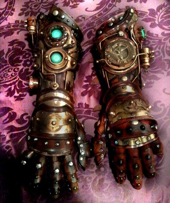 Steampunk Gauntlet Custom