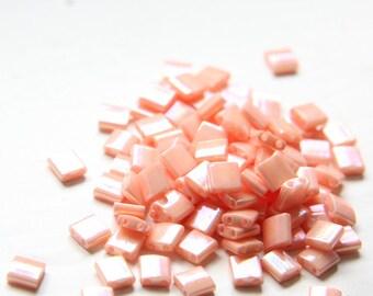 10 Grams Japanese Miyuki Tila Beads-Flat Square 5x5x1.9mm (TL596)