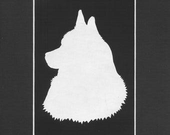 Animal Silhouette (bust only)