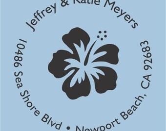 Jeffrey & Katie Meyers Custom Self Inking Stamp Design R400-004