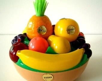 Vintage Salt and Pepper Fruit Bowl by Starke Design Inc.
