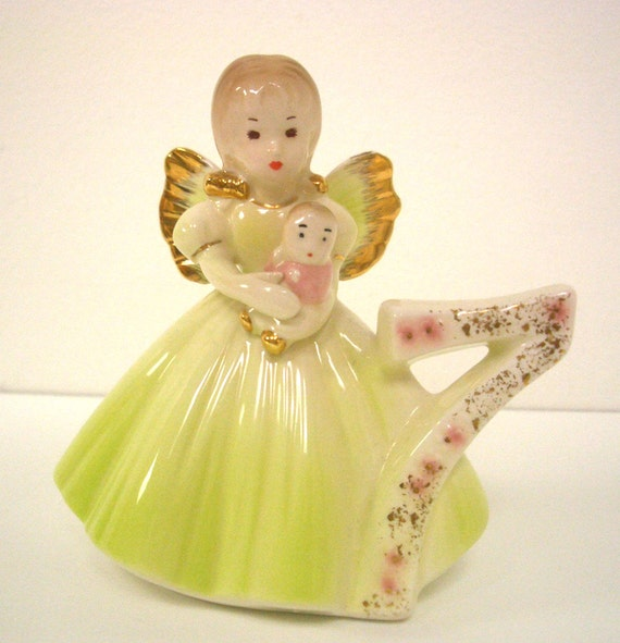Vintage Birthday Angel Age 7 By Josef Originals