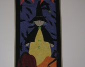 Witch Hazel Halloween Wall Hanging