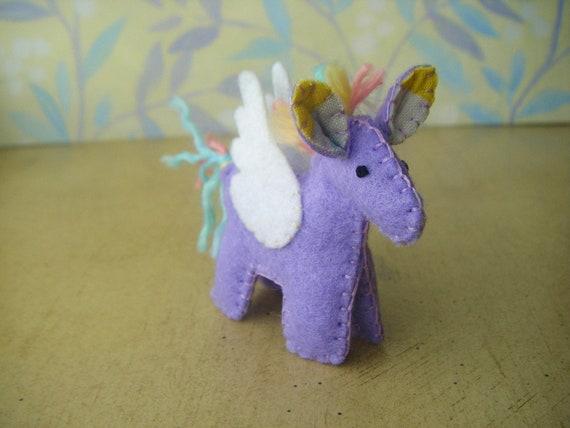 Winged Horse - Lavender