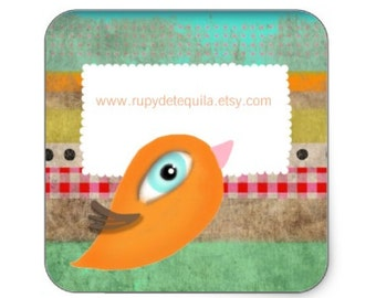 Baby Bird - One sheet includes 20 stickers.