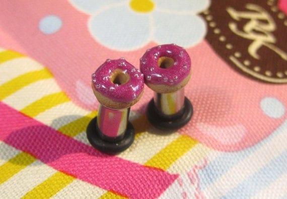 4g Donut Eyelets - Metallic Magenta Frosting