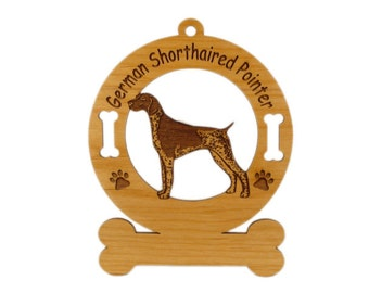 3226 German Shorthaired Pointer 2 Personalized Ornament