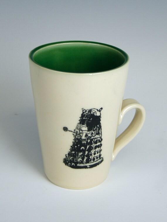 Custom Dalek Mug- Made to Order