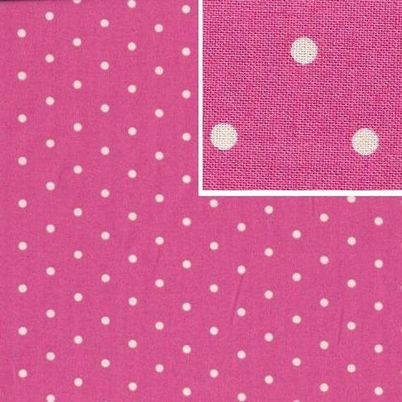 Tanya Whelan - Barefoot Roses Legacy  - Dot TW51 Pink, by 1/2 yard