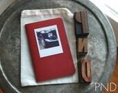 PND Vintage Mustang Photograph Stitched Moleskine Notebook