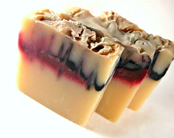 Vampire Soap - Cold Process Soap - Bar Soap - Palm Oil Free - Handmade Soap - Bite Me Soap - Phthalate Free Fragrance - Fruit Punch Scent