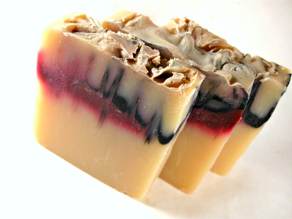 Vampire Soap - Cold Process Soap - Bar Soap - Handmade Soap - Bite Me Soap - Phthalate Free Fragrance - Fruit Punch Scent - Halloween Soap