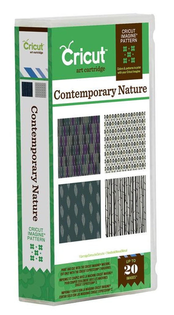 Cricut Imagine Contemporary Nature cartridge