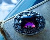 Purple Jewel Brooch . Amethyst Brooch . Anne of Green Gables - Marilla's Amethyst Brooch