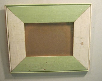 SHABBY ARCHITECTURAL Chic Salvaged Recycled Wood Photo Picture Frame 5x7 S-592-12