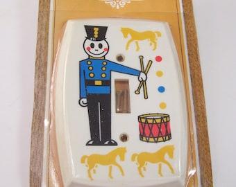 vintage 1980s EDMAR light cover band member tamborine yellow horses swich cover