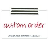 Custom Order for meaganljones