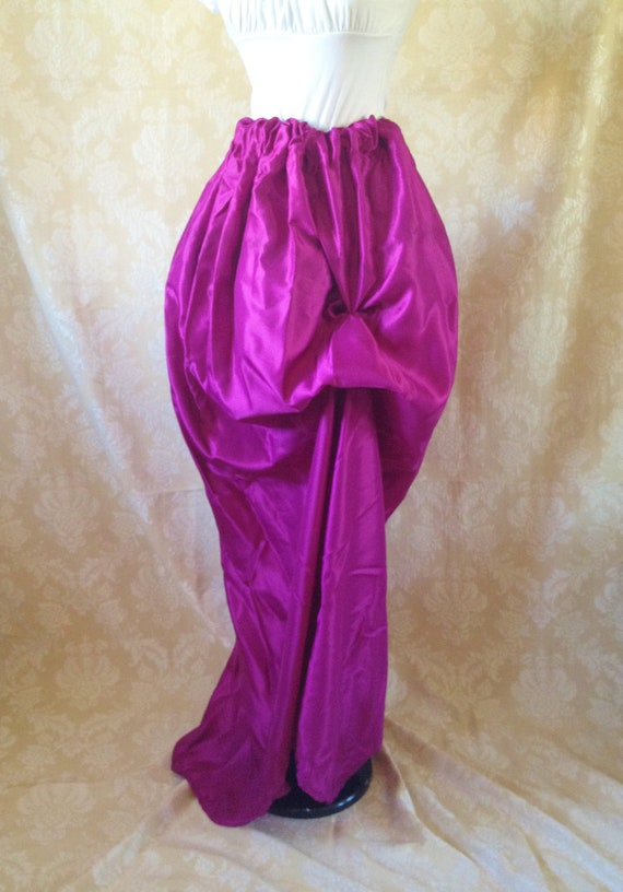 Guinevere Magenta Full Length Skirt-One Size Fits All
