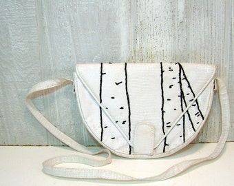 birch forest handbag