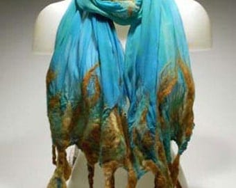 Nuno Felted Scarf How To Kit