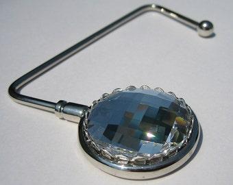 Swarovski Crystal Purse Hanger - Clear